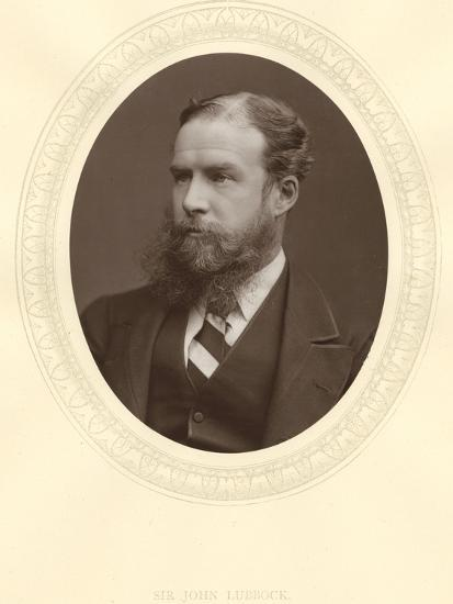 John Lubbock, First Baron Avebury, English Banker, Archaeologist, Naturalist and Politician, C1880--Photographic Print