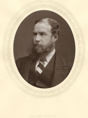 John Lubbock, First Baron Avebury, English Banker, Archaeologist, Naturalist and Politician, C1880