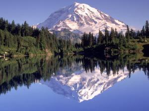 Mt. Rainier from Lake Eunice, WA by John Luke