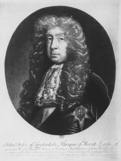 John Maitland, Duke of Lauderdale, Marquis of March--Giclee Print