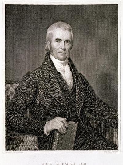 John Marshall-Henry Inman-Giclee Print