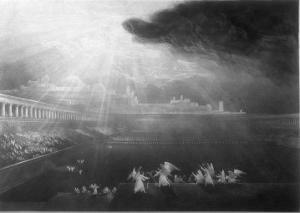 Angels in the Courts of Heaven by John Martin