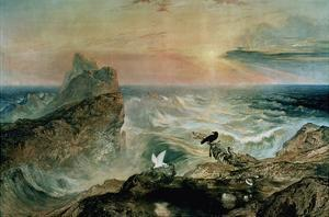 Assuaging of the Waters by John Martin
