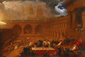 Belshazzar's Feast, 1820 by John Martin