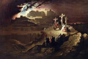 Calvary, C.1830-40 by John Martin