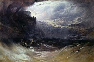 Christ Stilleth the Tempest, 1852 by John Martin