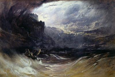 Christ Stilleth the Tempest, 1852