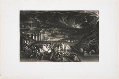 Fall of Nineveh, 1826 by John Martin