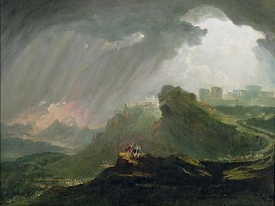 Joshua Commanding the Sun to Stand Still Upon Gibeon, c.1840