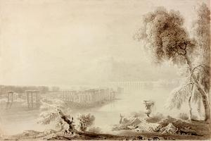 Landscape, Classical Composition by John Martin