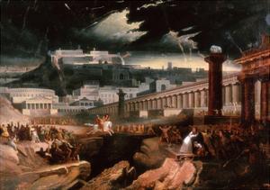 Marcus Curtius, C.1827 by John Martin