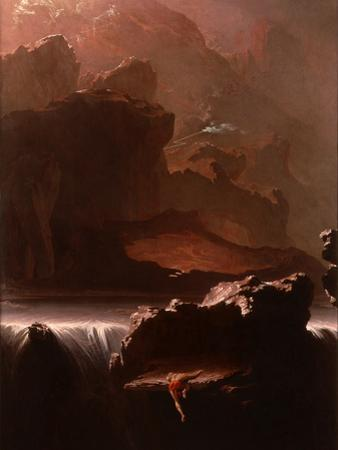 Sadak in Search of the Waters of Oblivion, 1812 by John Martin