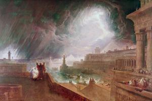 Seventh Plague of Egypt by John Martin