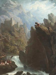 The Bard, C.1817 by John Martin