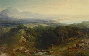 The Isle of Man, 1848 - 1854 by John Martin