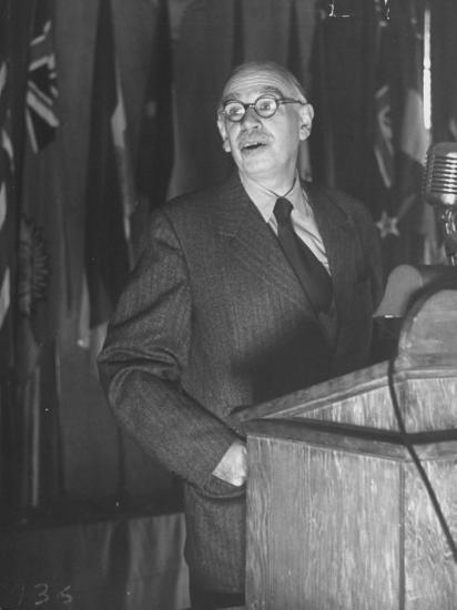John Maynard Keynes During the Monetary Conf--Photographic Print