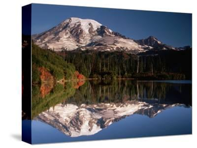 Mount Rainier Reflected in Bench Lake