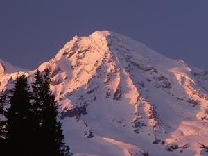 Sunset on Mount Rainier by John McAnulty