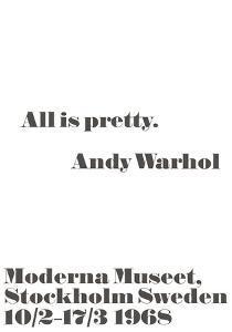 All is pretty. by John Melin