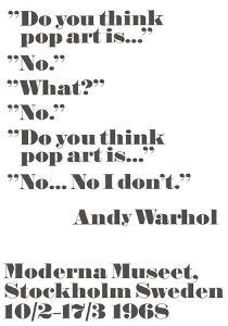 Do you think pop art is... by John Melin