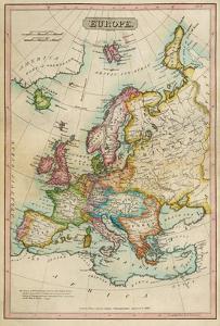Europe, c.1820 by John Melish