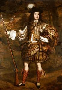A Highland Chieftain: Portrait of Lord Mungo Murray (1668-1700) by John Michael Wright
