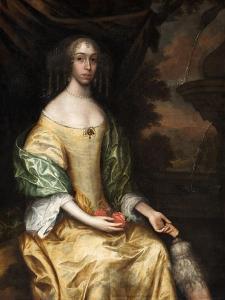Miss Butterworth of Belfield Hall, 1650-70 by John Michael Wright
