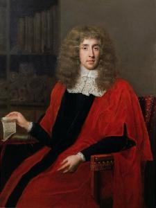 Portrait of 'Judge Jeffreys', George Jeffreys, 1st Baron (1648-89) by John Michael Wright