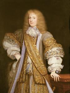 Portrait of Sir John Corbet of Adderley by John Michael Wright