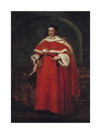 Sir Matthew Hale, KT, Chief Justice of the King's Bench, 1670