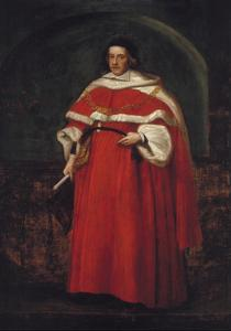 Sir Matthew Hale, KT, Chief Justice of the King's Bench, 1670 by John Michael Wright