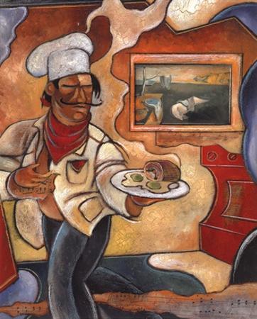 Dali's Delicacies by John Milan