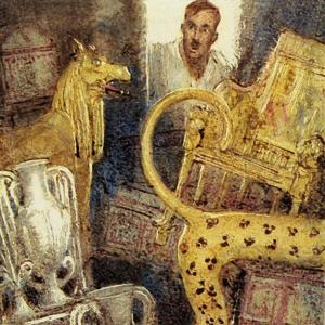 Howard Carter Discovered the Lost Burial Chamber of Tutankhamen by John Millar Watt