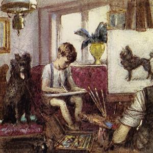 Howard Carter Grew Up in London, the Son of an Artist by John Millar Watt