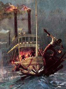 Huckleberry Finn by John Millar Watt