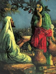 Jesus at Jacob's Well by John Millar Watt