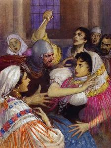 Massacre of the Sicilian Vespers by John Millar Watt