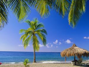 Anse Chastenet Beach, St. Lucia, Caribbean, West Indies by John Miller