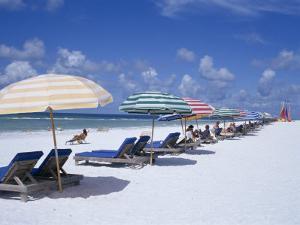 Beach, Longboat Key, Sarasota, Florida, USA by John Miller