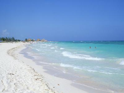 Beach, Playa Del Carmen, Yucatan, Mexico, North America