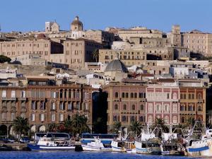 Cagliari, Sardinia, Italy, Europe by John Miller