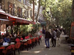 Cours Mirabeau, Aix-En-Provence, Bouches-Du-Rhone, Provence, France by John Miller