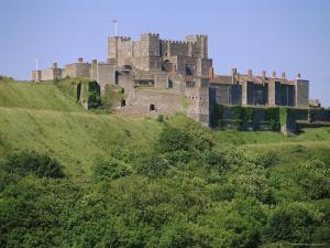 Dover Castle, Dover, Kent, England, UK, Europe by John Miller