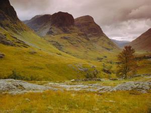 Glen Coe (Glencoe), Highlands Region, Scotland, UK, Europe by John Miller