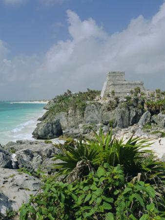 Mayan Archaeological Site, Tulum, Yucatan, Mexico, Central America by John Miller