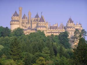 Pierrefonds Castle, Picardie (Picardy), France, Europe by John Miller