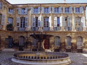 Place d'Albertas, Aix En Provence, Provence, France, Europe by John Miller