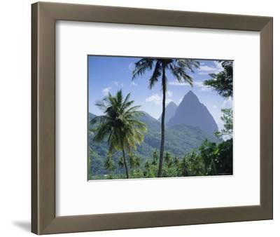 The Pitons, St. Lucia, Caribbean, West Indies