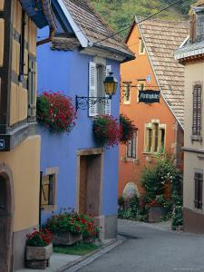 Traditional Architecture of Neidermorschwir, Alsace, France by John Miller
