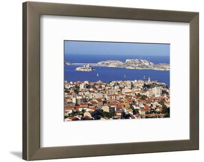 Views of Chateau D'If and Frioul Island, Marseille, Provence, France